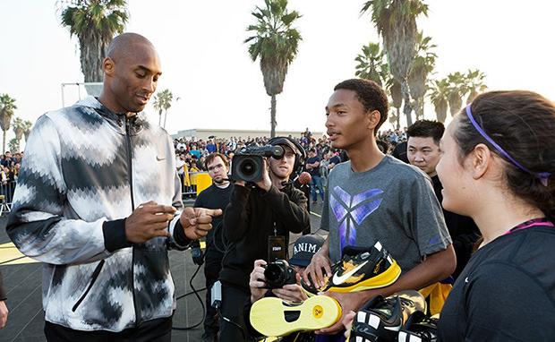 Nike Strike at Light Speed Kobe 8 Event Recap