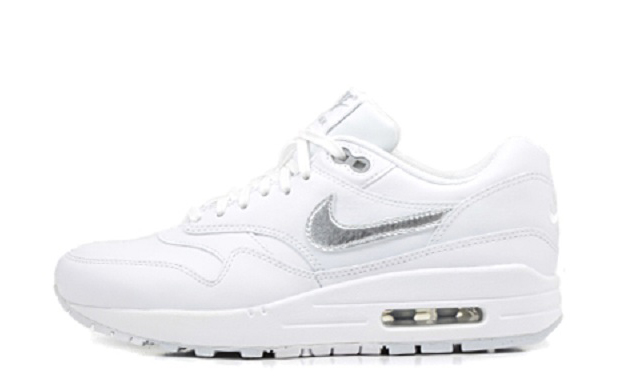 Nike WMNS Air Max 1 Premium WhiteMetallic Silver