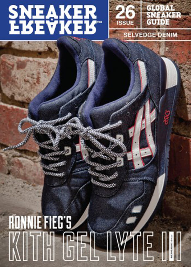 Ronnie Fieg x ASICS Gel Lyte III Selvedge Denim
