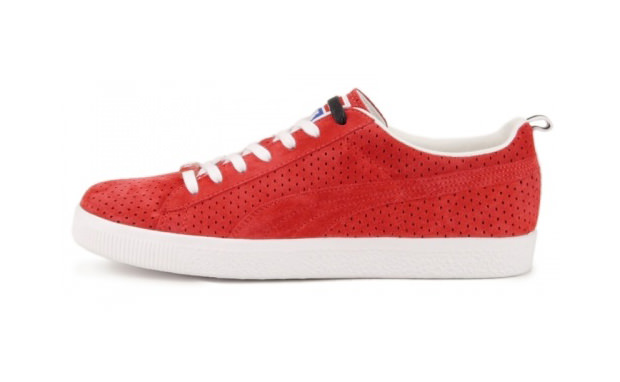UNDFTD x PUMA Clyde Gametime - Ribbon Red