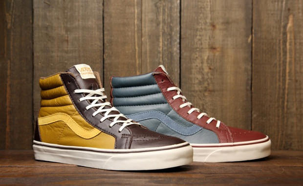 "Vans CA Sk8-Hi ""Premium Leather"" Pack"