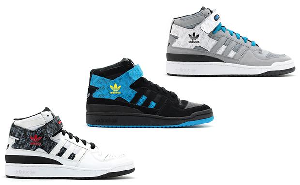 Adidas Forum Mid - Tag Adidas Forum Mid Magasin D'usine