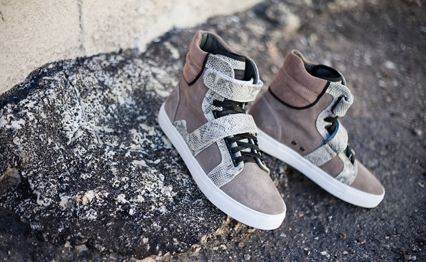 "Android Homme Propulsion Hi ""Tan Snakeskin"""