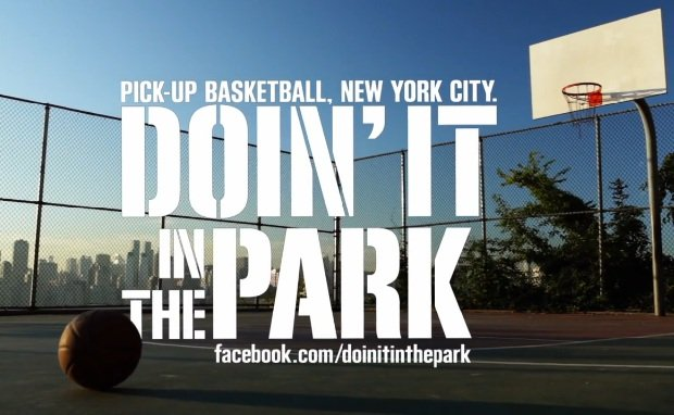 "Nike Sponsors ""Doin' It in the Park"" Doc on NYC Pickup Basketball"