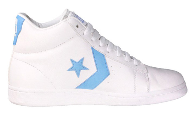 Bring 'em Back Converse Pro Leather White Carolina
