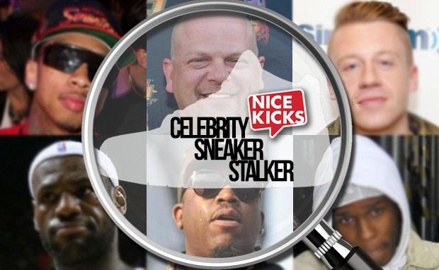 Celebrity Sneaker Stalker