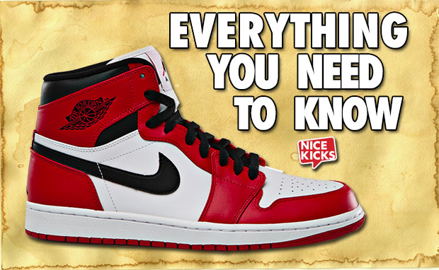 Everything You Need to Know Air Jordan 1