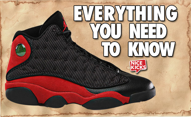 Everything You Need to Know Air Jordan 13 Bred