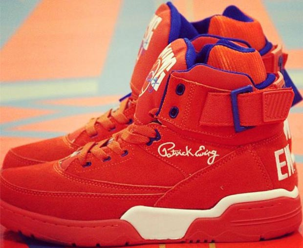 Ewing 33 Hi Orange Suede Release Date