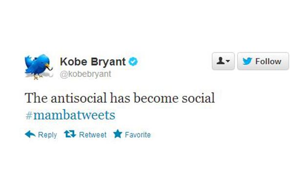 Kobe Bryant Joins Twitter