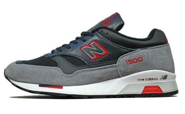 New Balance 1500 Grey/Red-Black