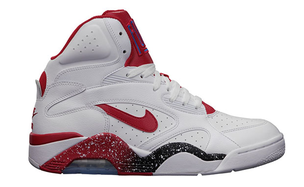Nike Air Force 180 Mid White/Hyper Red Available Now