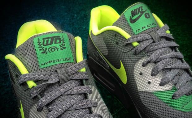 Nike Air Max 90 Hyperfuse Oregon Custom