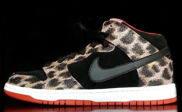"Nike Dunk Mid ""Ocelot Safari"" Custom"