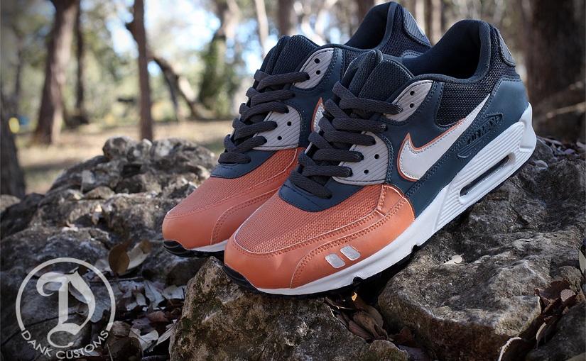 "Nike Gel Max 90 ""Salmon Toe"" Custom"