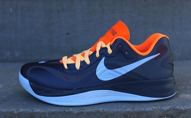 Nike Hyperfuse 2012 Low Squadron Blue/Total Orange