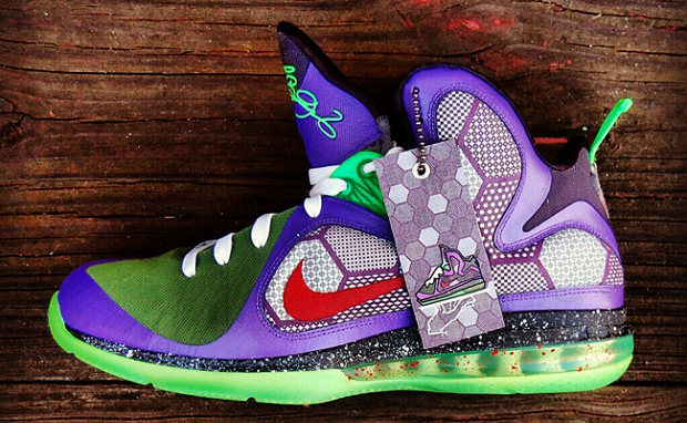 "Nike LeBron 9 ""JokerMan"" Custom"