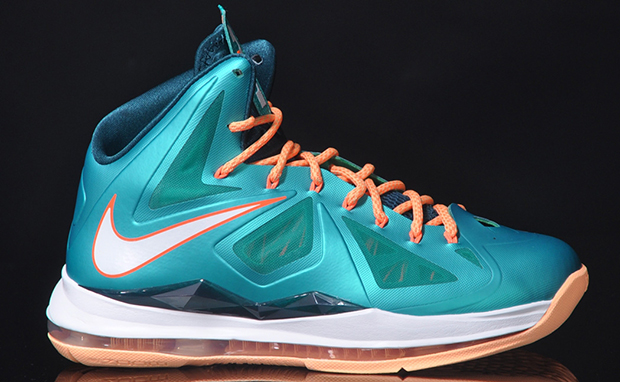 Nike LeBron X Dolphins Available Now
