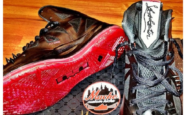 Nike LeBron X LeBron-Boutin Custom 1
