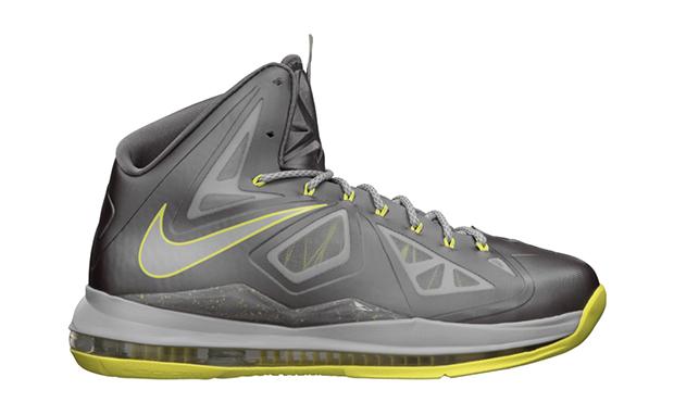 Nike LeBron X Yellow Diamond
