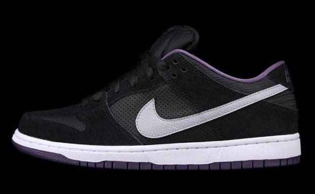 Nike SB Dunk Low Pro Black Purple