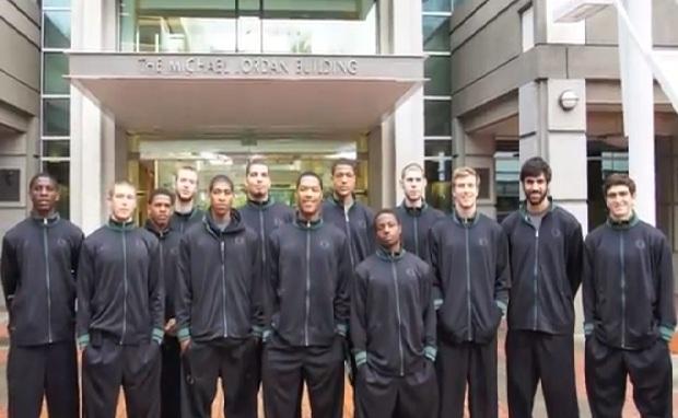 Oregon Basketball visits Nike Campus