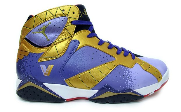 Ozymandias Air Jordan VII custom (2)