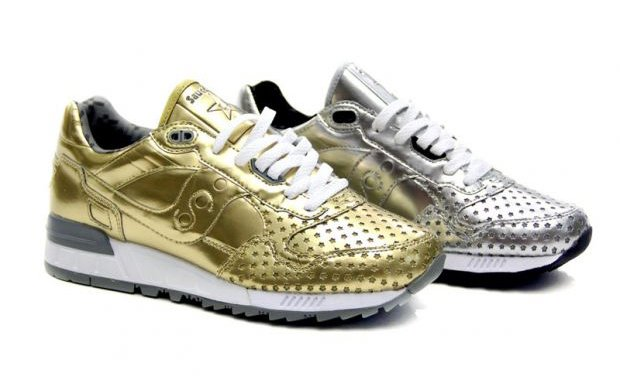 Play Cloths x Saucony Precious Metals Pack