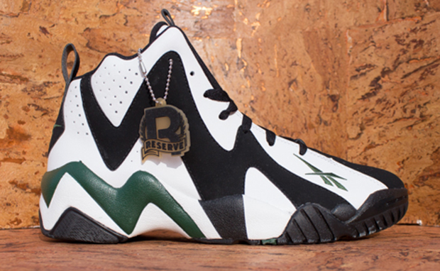 Reebok Kamikaze II White Black Green Available for Pre-Order