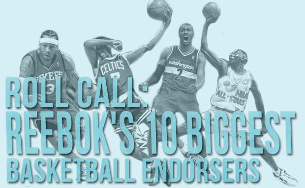 Roll Call: Reebok's 10 Biggest Basketball Endorsers
