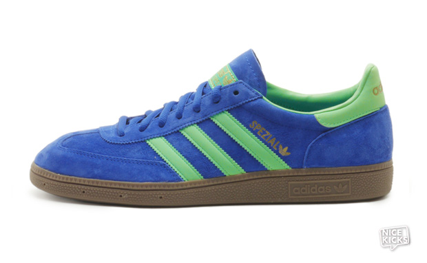 adidas Spezial True Blue/Green Zest