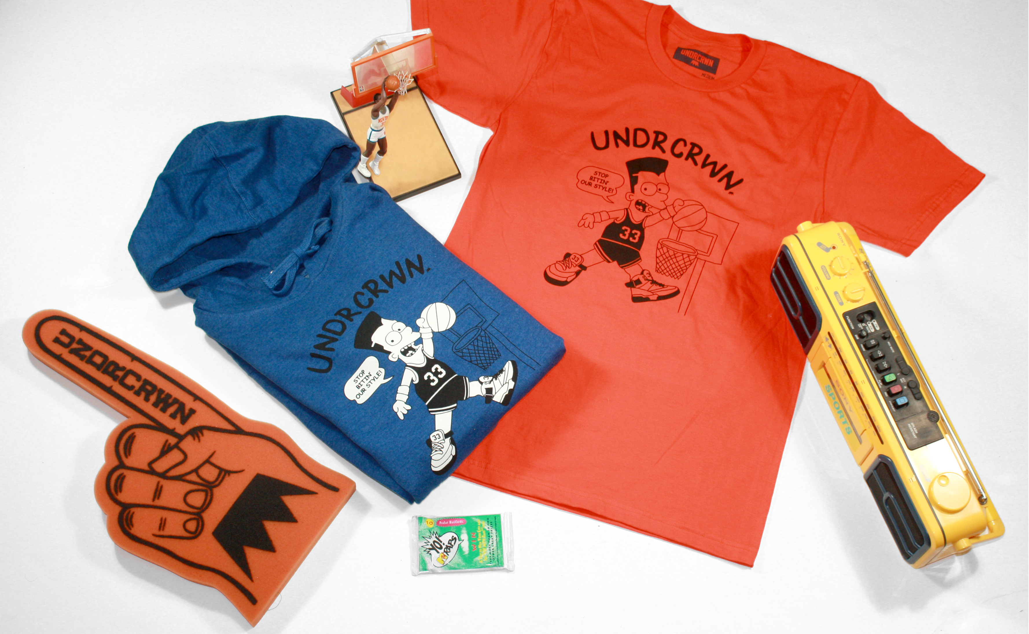 UNDRCRWN Air 33 Capsule Collection