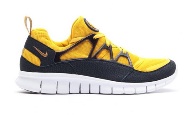 Nike Free Huarache Light Flat Gold Vivid Sulfur low-cost