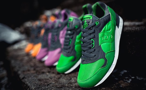 solebox x Saucony Shadow 5000 Three Brothers Part 2 Pack