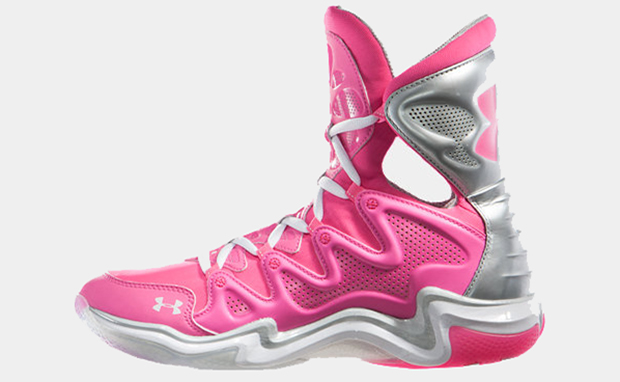 "Under Armour Charge BB ""Power in Pink"""