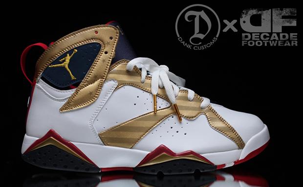 Air Jordan 7 Médaille Dor