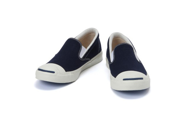 Beams x Converse Jack Purcell Slip-On - Navy