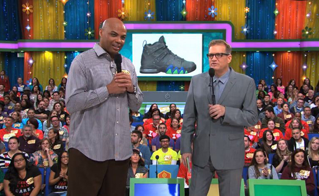 "Charles Barkley Guesses the Price of His Sneaker on ""The Price is Right"""