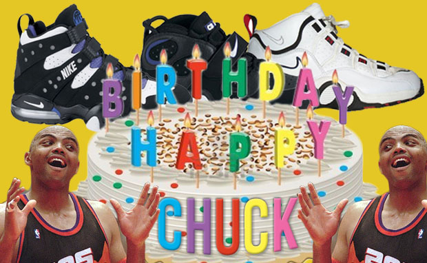 Happy Birthday Chuck A History of Charles Barkley's Signature Shoes