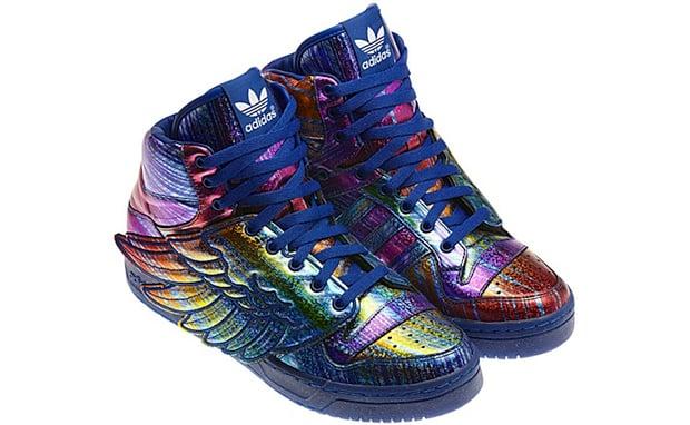 "Jeremy Scott x adidas Wings ""Rainbow Hologram"""