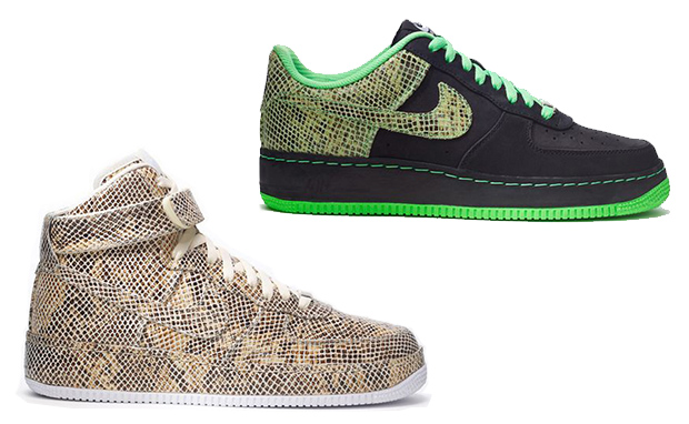 nike air force 1 year of the snake