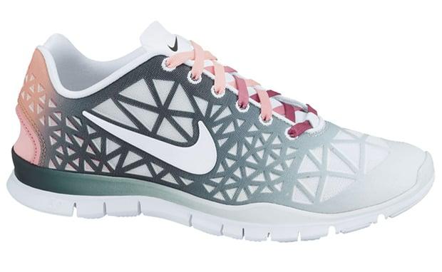 Nike Free TR Fit 3 Dye WhiteDark Atomic Teal-Polarized Pink