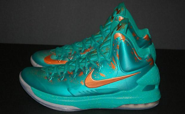 Nike KD V Statue of Liberty Custom