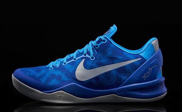 Nike Kobe 8 Blue Glow/Strata Grey
