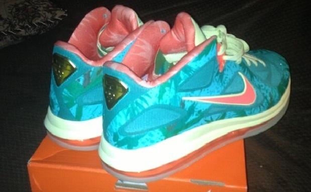 Nike LeBron 9 Low Reverse LeBronold Palmer Sample