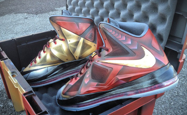 Nike LeBron X Ironman 3 Custom for LeBron James