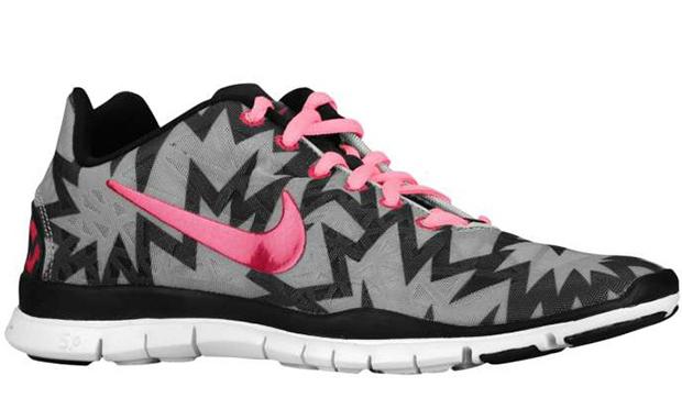 "Nike Free TR Fit 3 ""Print"" Strata Grey/Sport Fuscia"