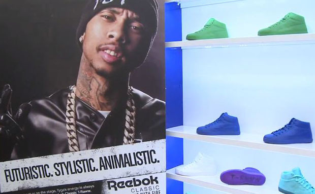 Tyga x Reebok T-Raww Lakeland Mall Launch Video Recap