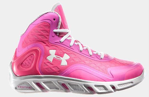 Under Armour Spine Bionic Power in Pink
