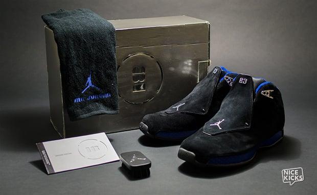 Air Jordan 18 Black/Royal Release Date